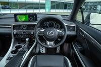Lexus RX front interior