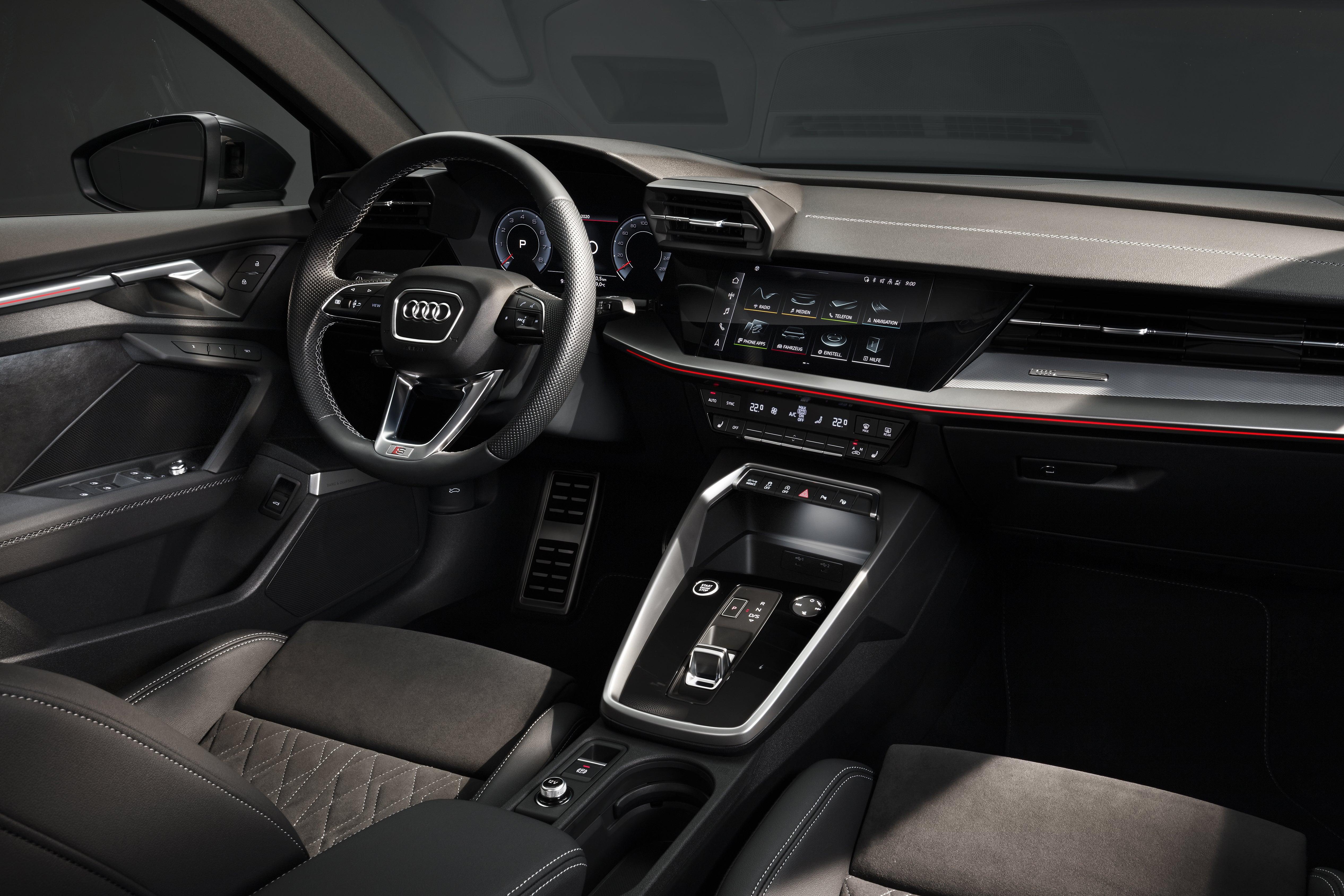 Audi A3 Saloon interior