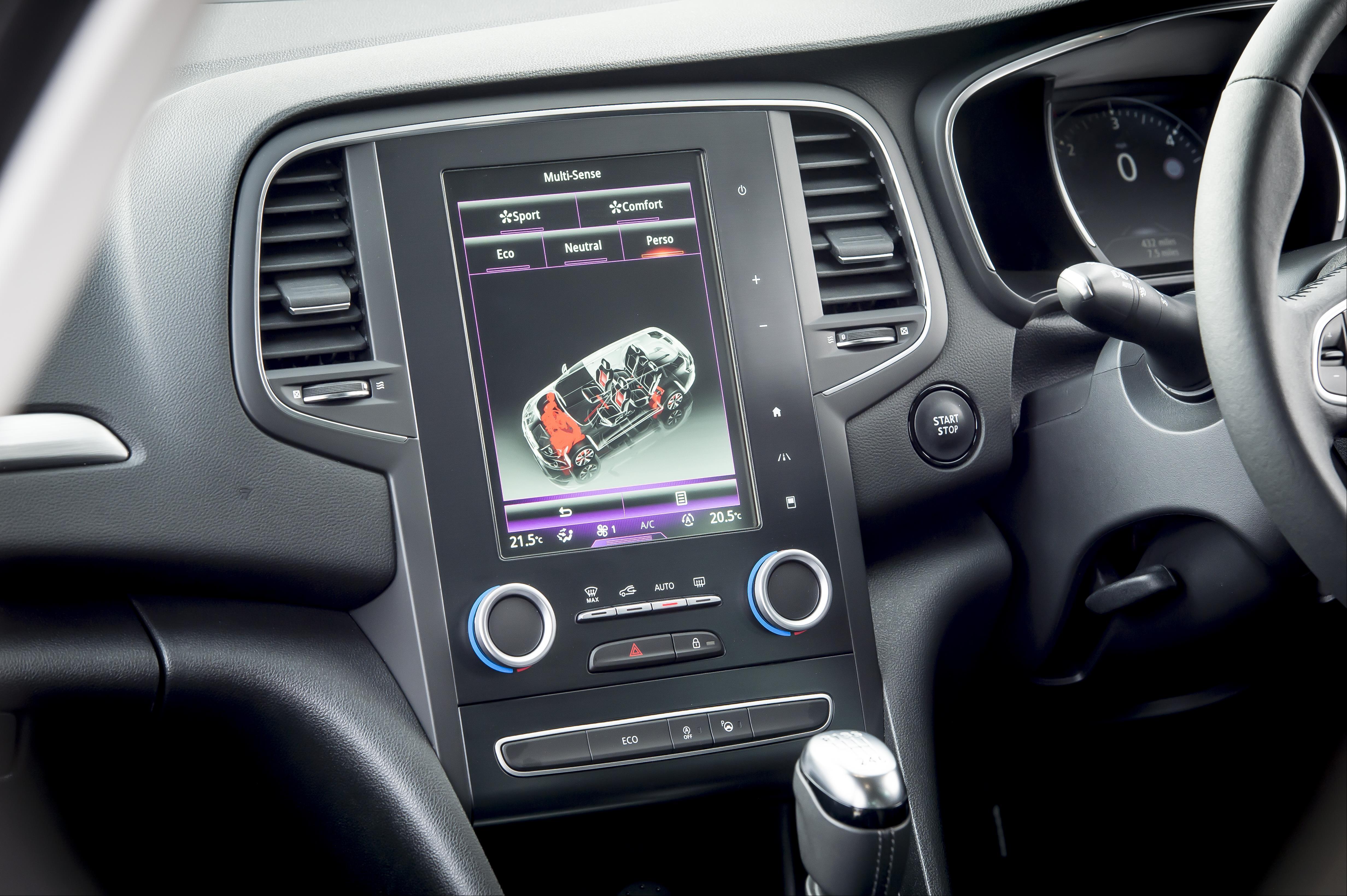 Renault Megane Sport Tourer Car Functions