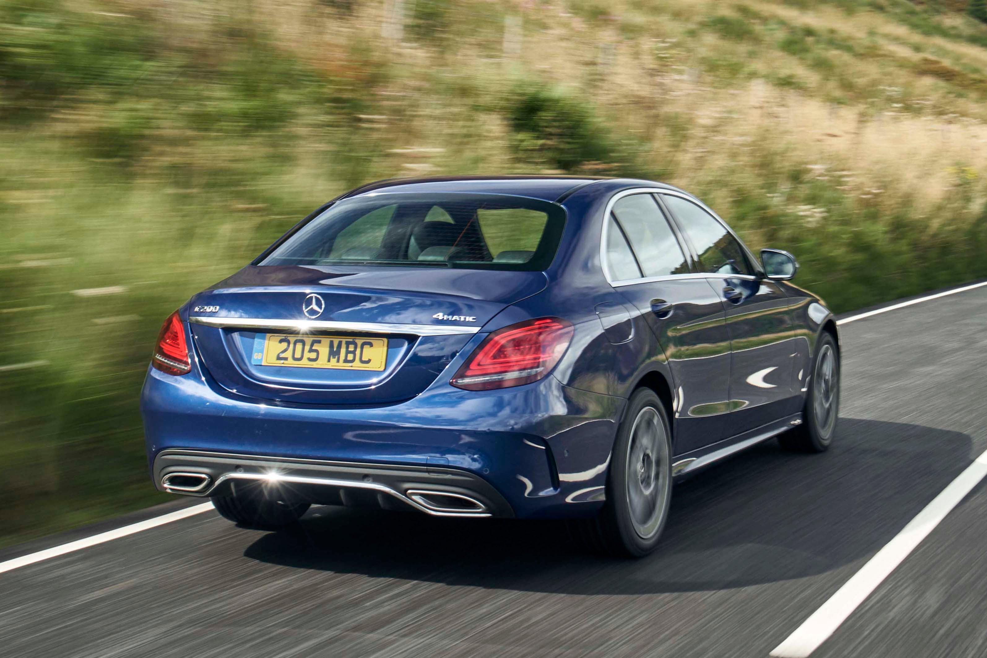 Mercedes C-Class backright exterior