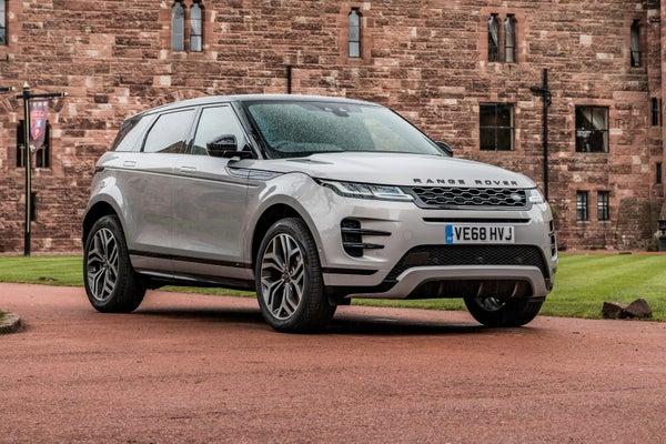 Range Rover Evoque 2019 frontright exterior