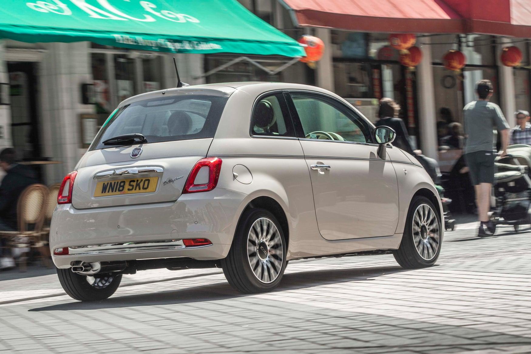 Fiat 500 Back
