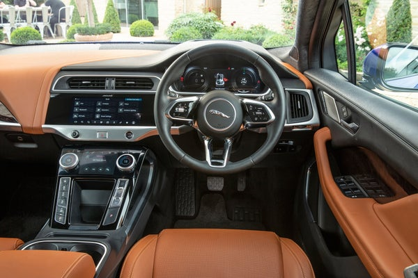 Jaguar I-Pace front interior