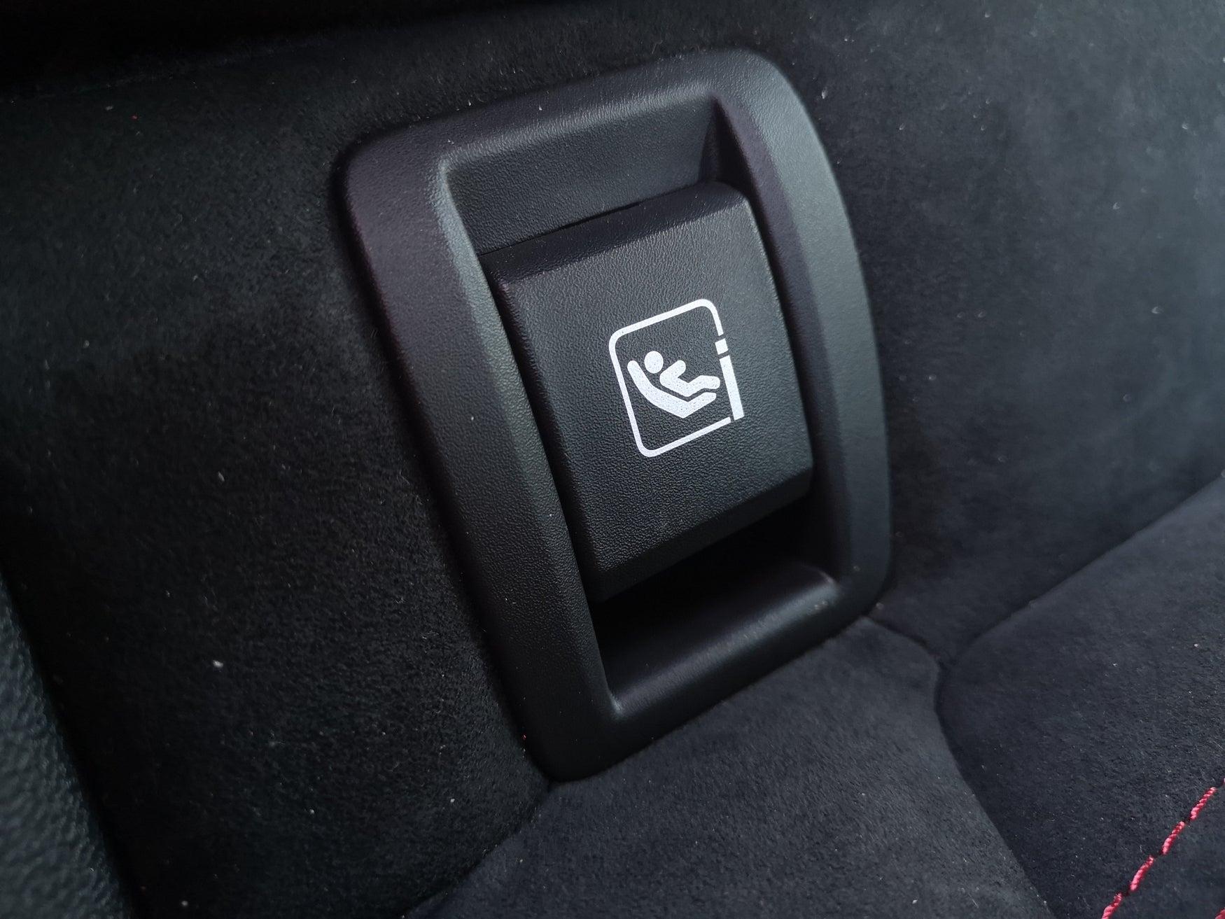 Renault Megane Isofix point