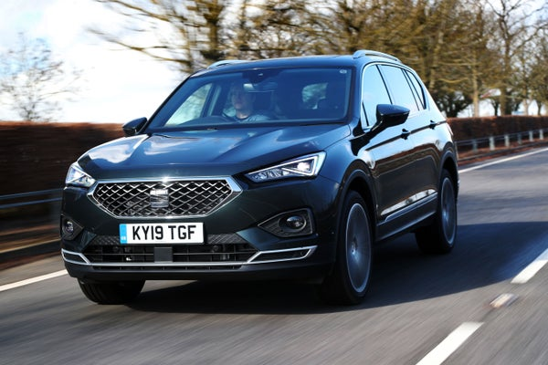 SEAT Tarraco Front View
