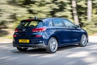 Hyundai i30 driving