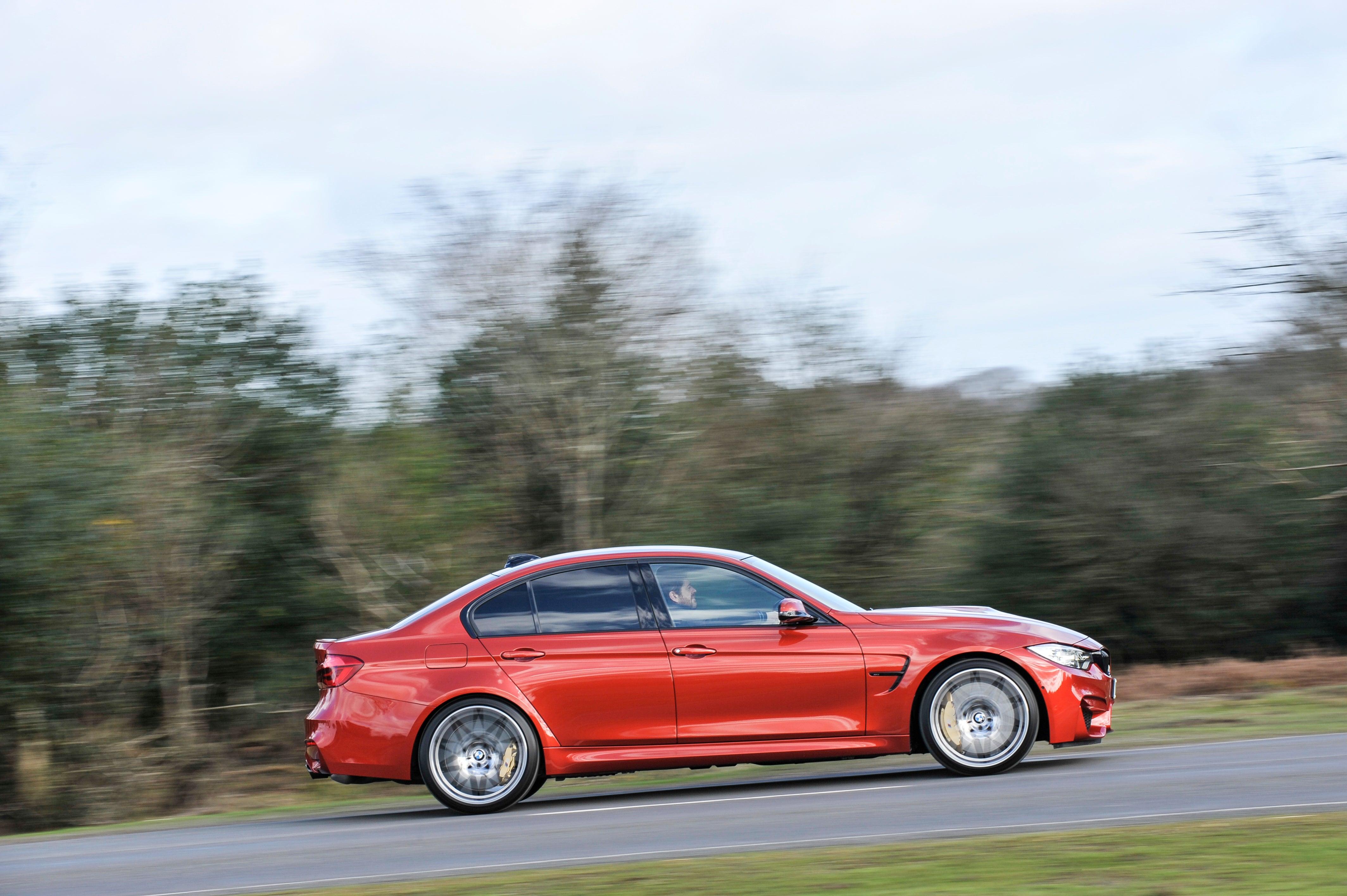 BMW M3 Driving Side