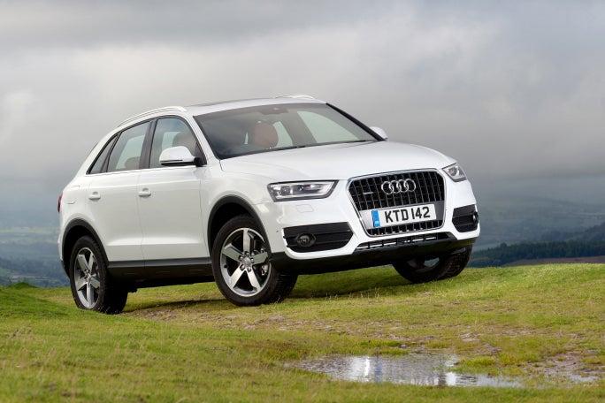 Audi Q3 white