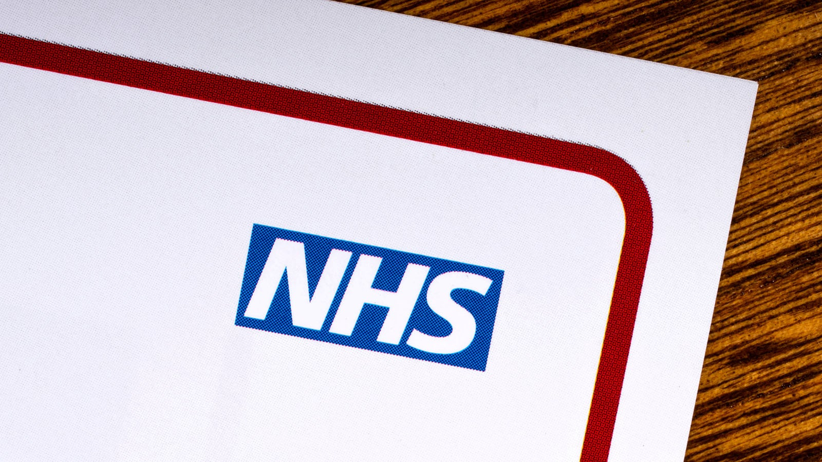Image of NHS logo on letterhead