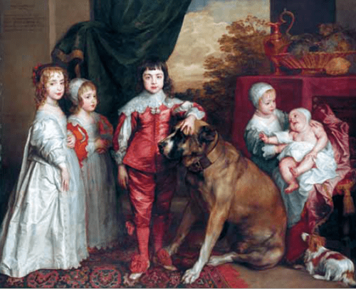Charles I's children Van Dyke painting