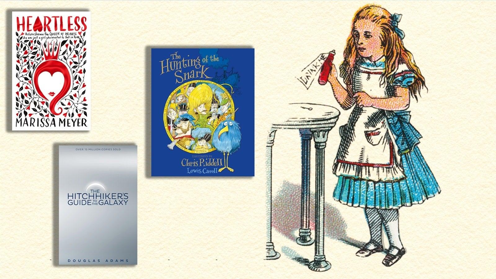 Books like Alice in Wonderland