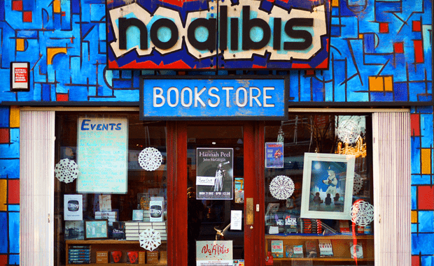 No Alibis bookshop Belfast