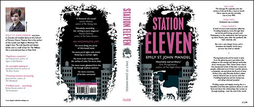 Station Eleven UK hardback cover