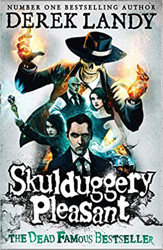 Book cover for Skulduggery Pleasant