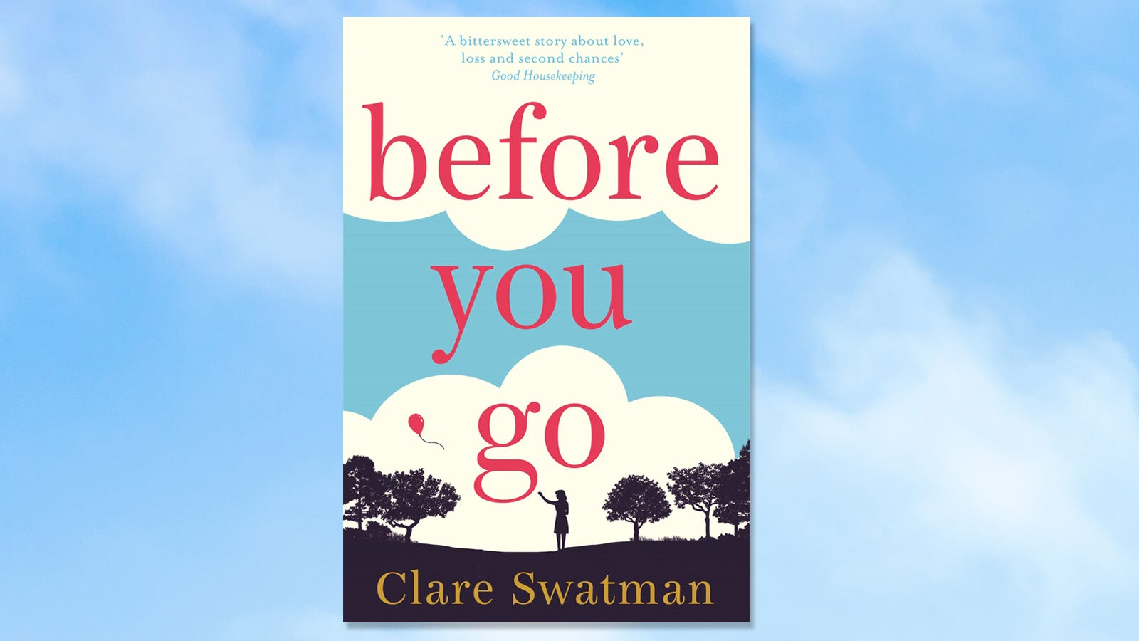 Before You Go by Clare Swatman book cover