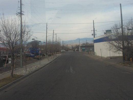 A bleak view of the Rockies