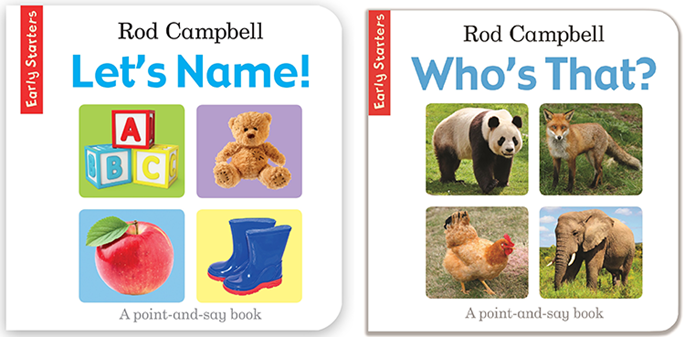Rod Campbell's Let's Name and Who's That