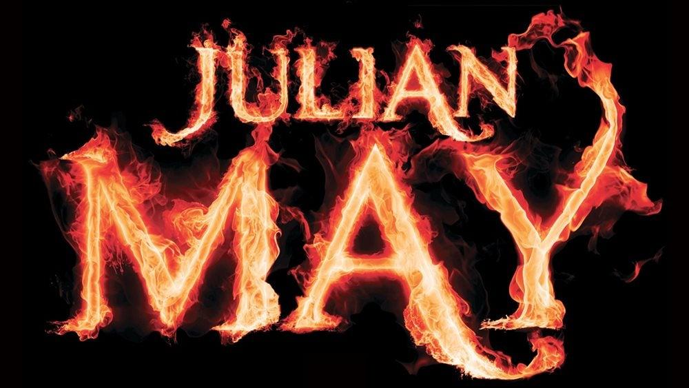 Julian May written in flames