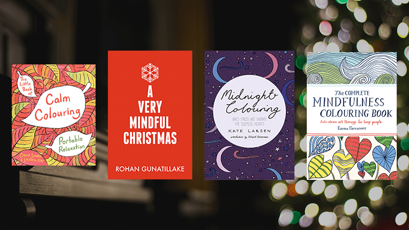 Mindful colouring books