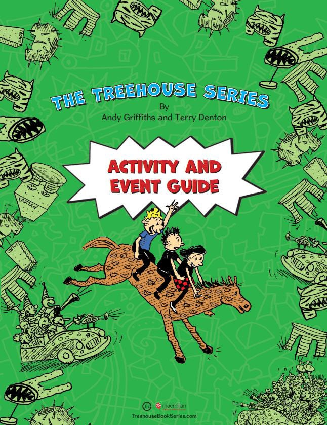 The Treehouse Series Activity Pack