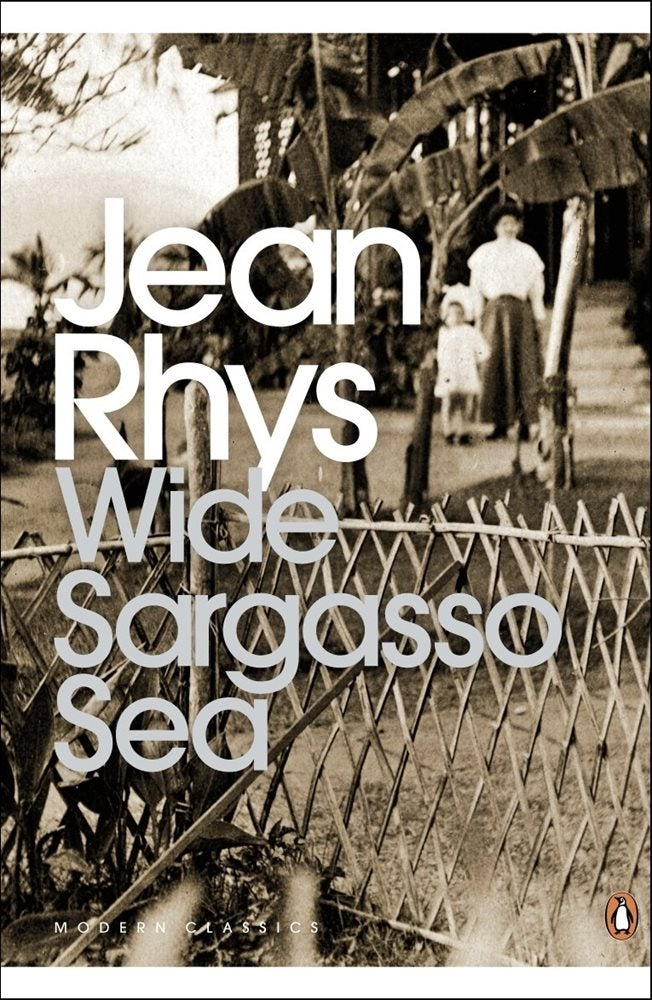 Book cover for Wide Sargasso Sea
