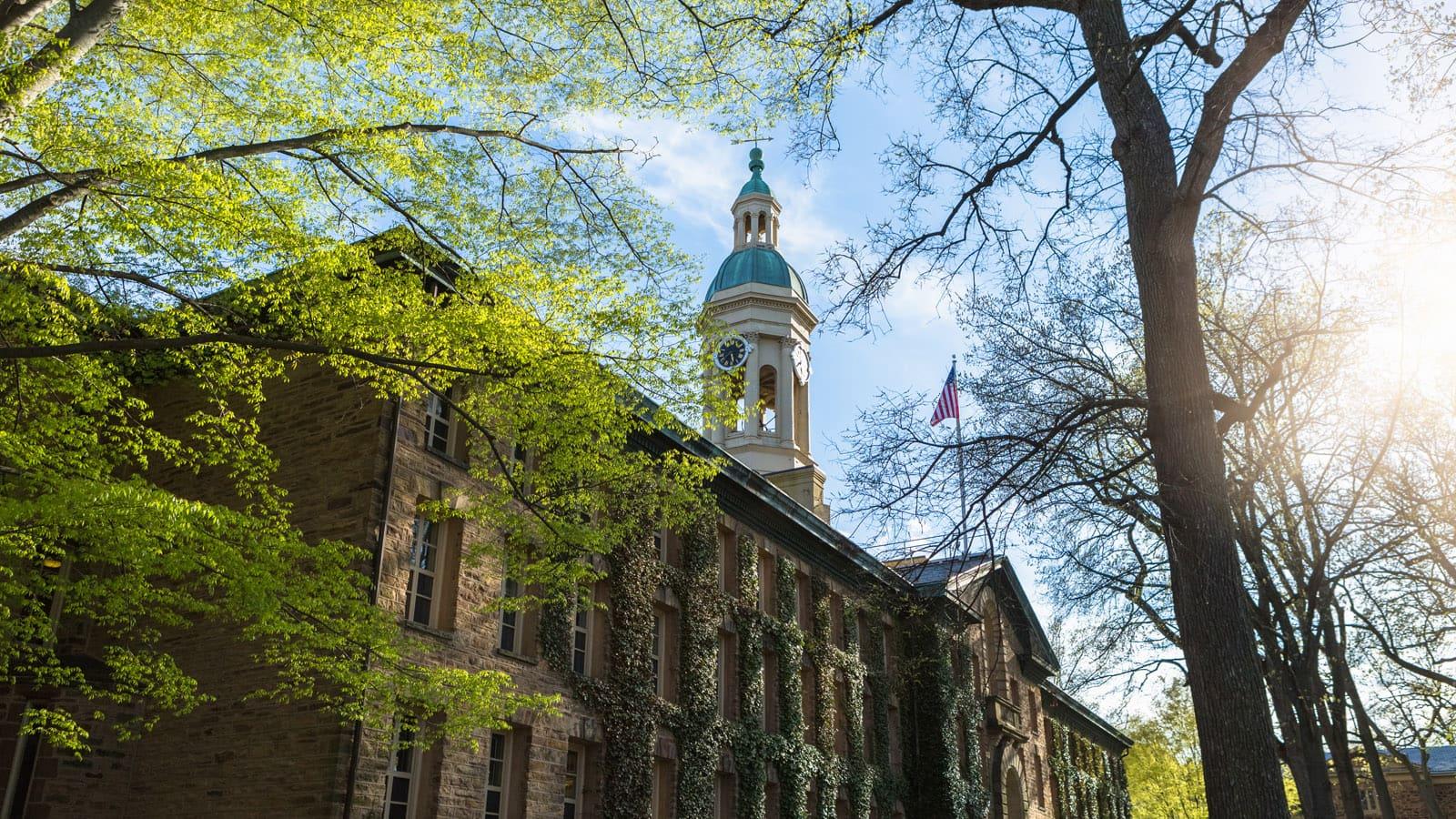 A photo of Princeton University