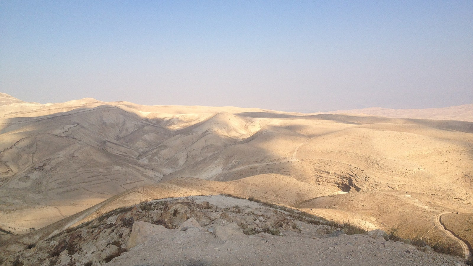 Judean Desert near Bethlehem