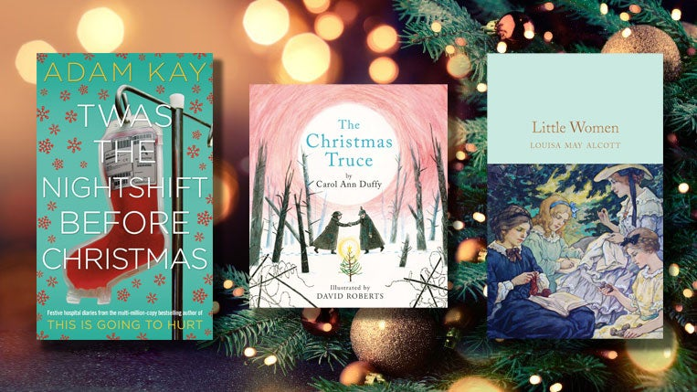 Twas the Nightshift Before Christmas, The Christmas Truce and Little Women book covers