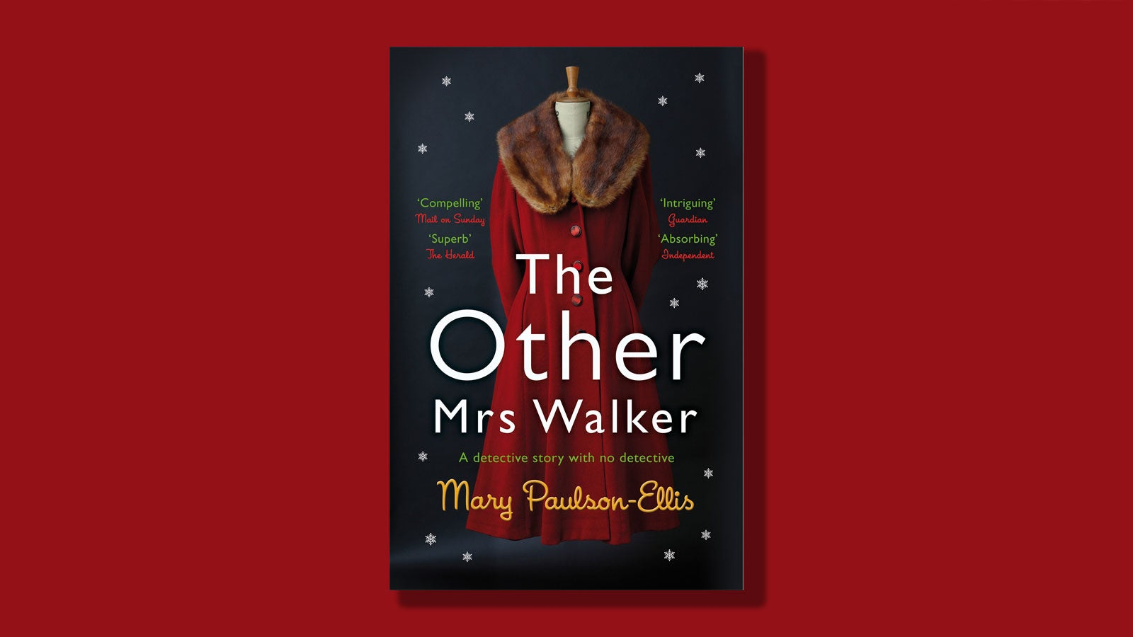 The Other Mrs Walker book cover on a red background
