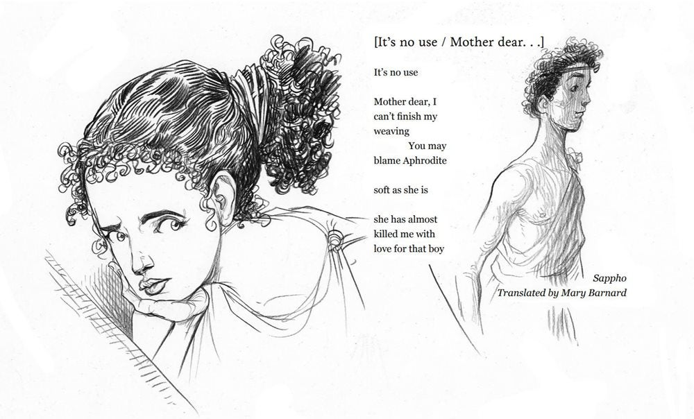 Illustration for Its No Use Mother Dear Illustrated by Chris Riddell
