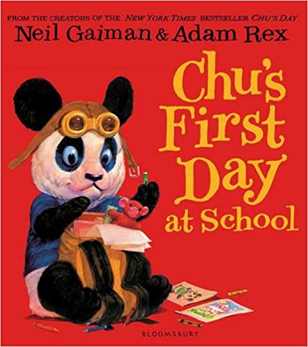 Book cover for Chu's First Day at School
