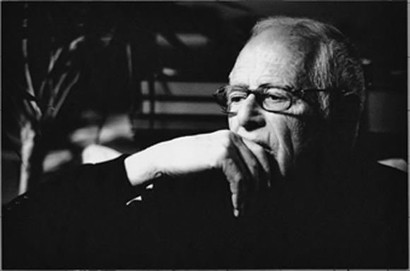 James Salter black and white photo