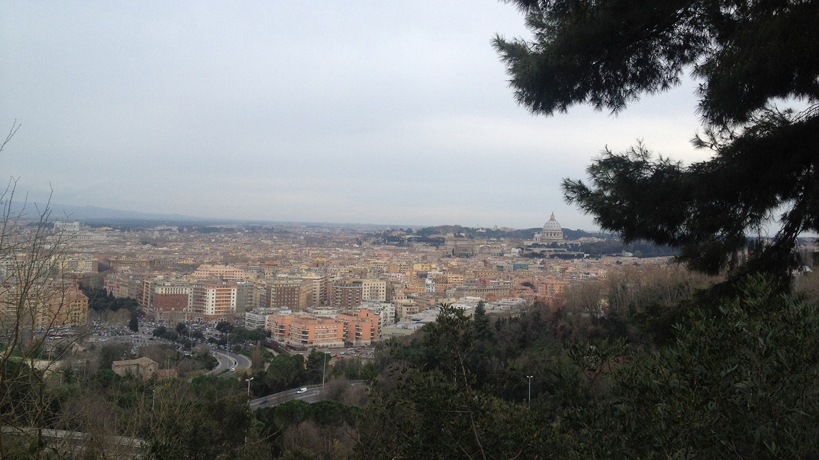 Rome from Monte Mario