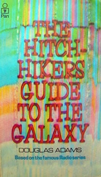 Hitchhikers Guide to the Galaxy original cover