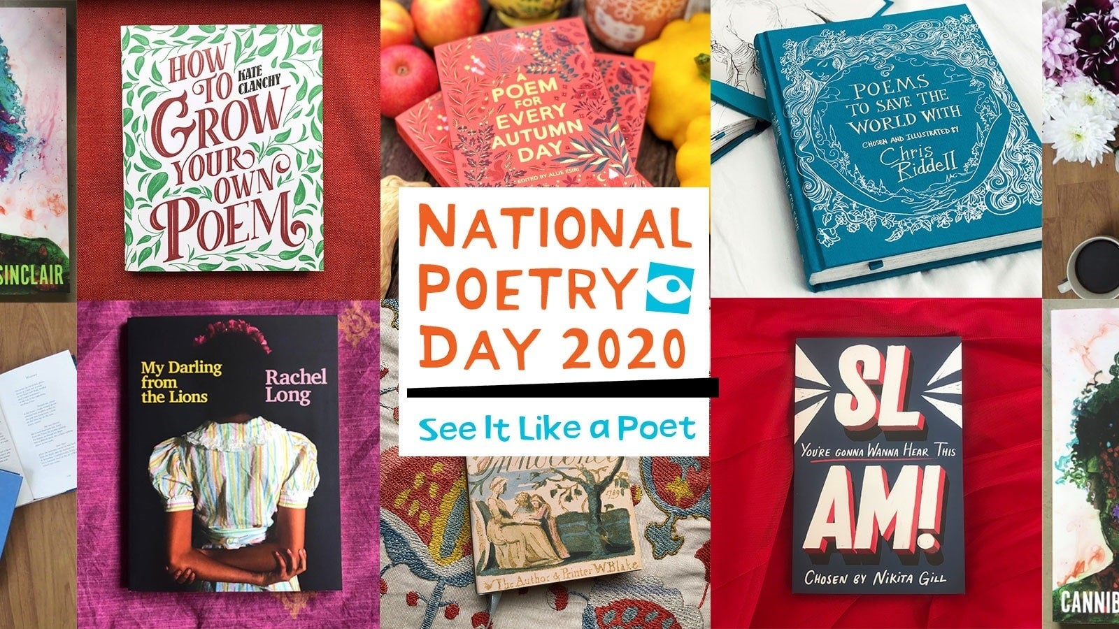 National Poetry Day competition - header