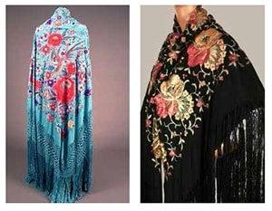Spanish shawls