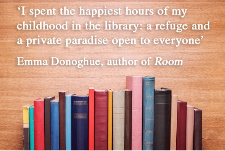 Emma Donoghue Library quote