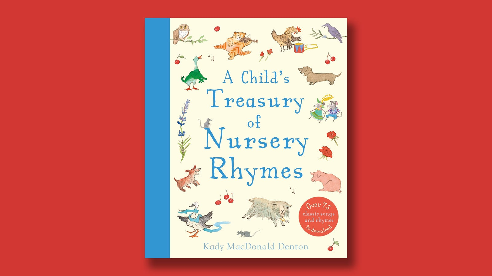 A Child's Treasury of Nursery Rhymes book cover