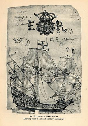 Spanish armada English ship