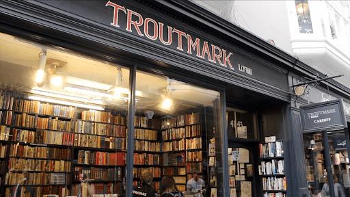 Troutmark bookshop, Cardiff