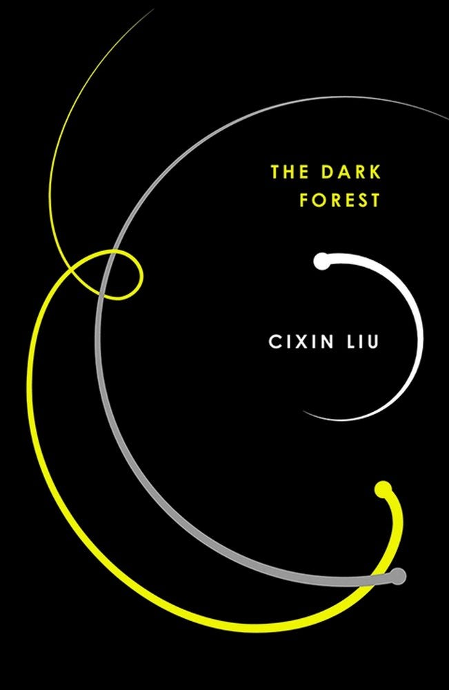 Book cover for The Dark Forest
