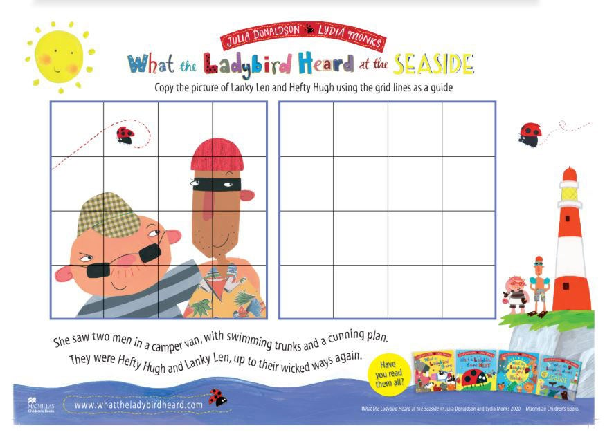 downloadable pdf drawing grid activity