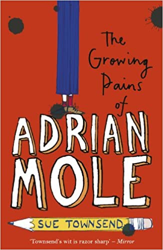 Book cover for The Growing Pains of Adrian Mole