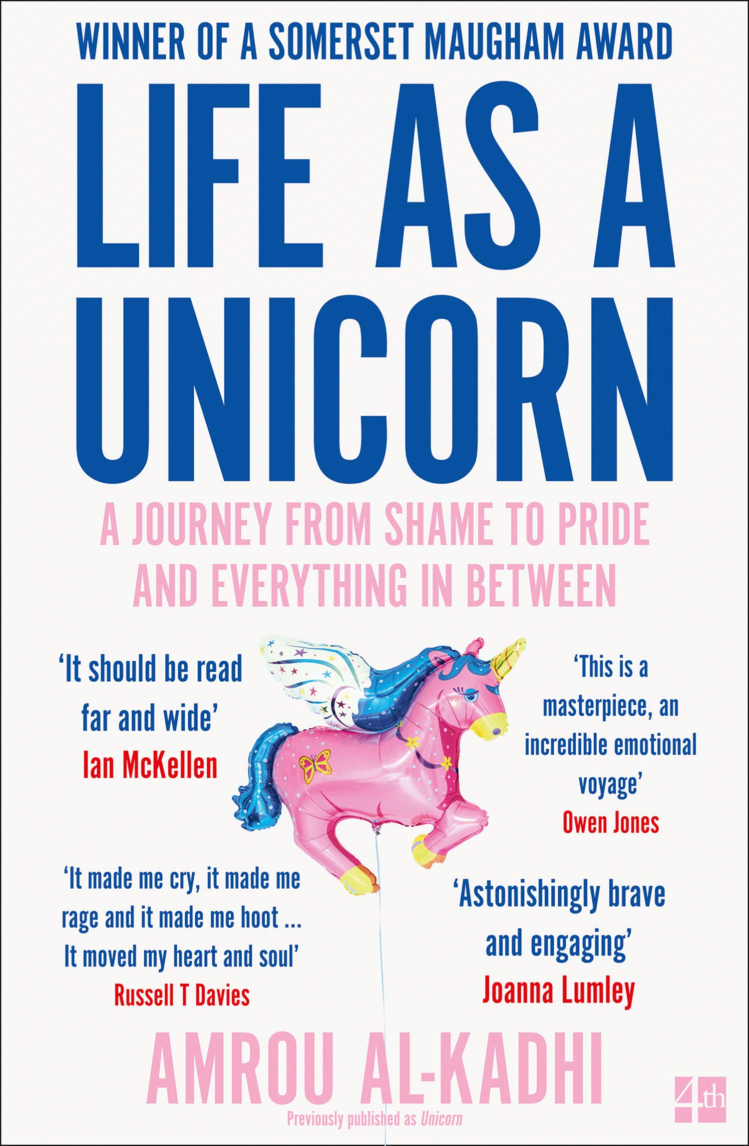 Book cover for Life as a Unicorn