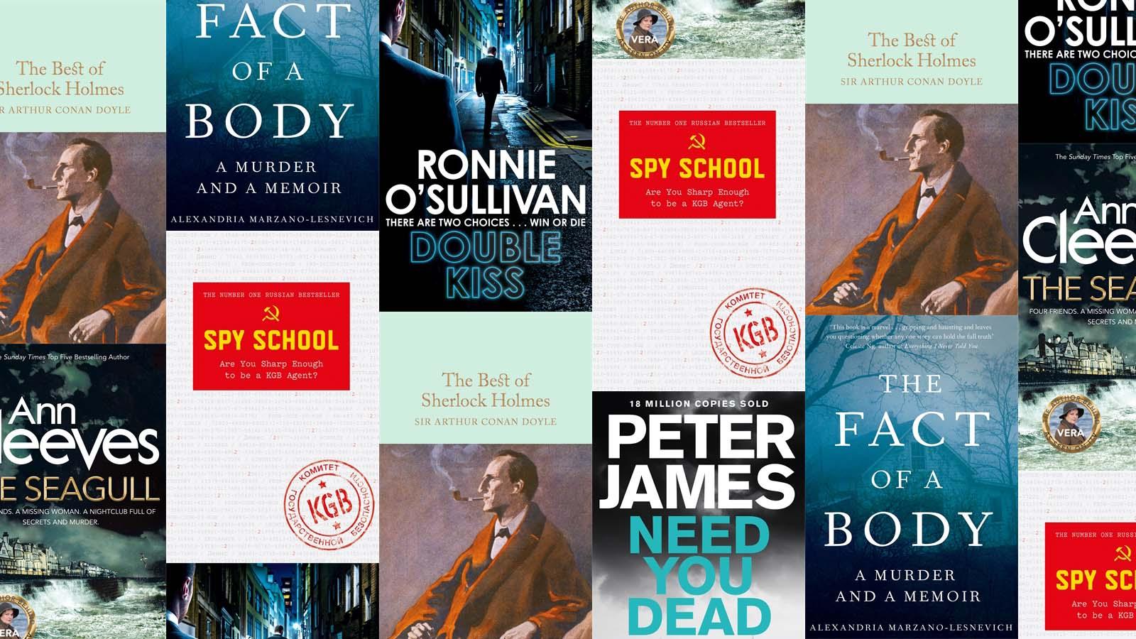 Crime and true crime books