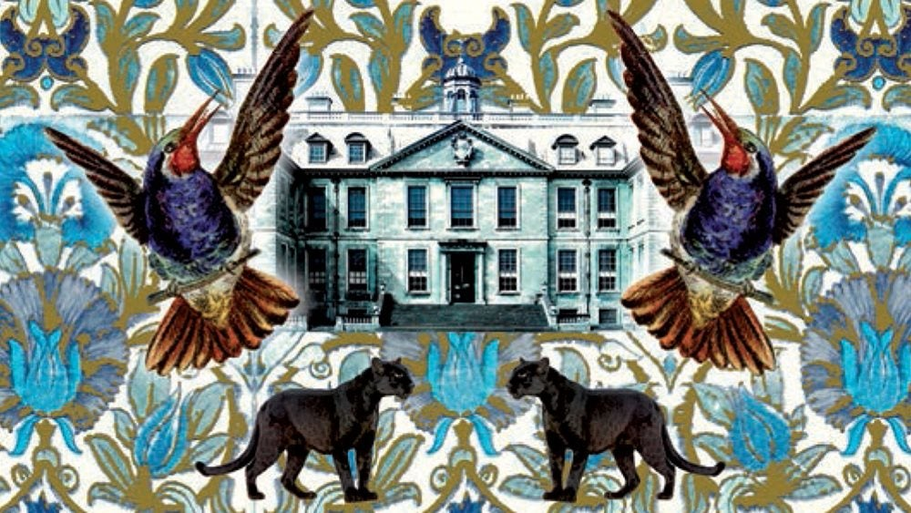 The Animals at Lockwood Manor book cover illustration
