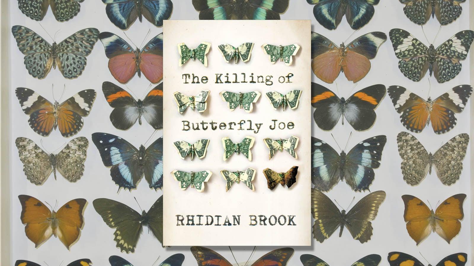 The Killing of Butterfly Joe Rhidian Brook  Book Jacket