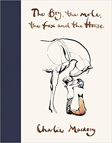 Book cover for The Boy, the Mole, the Fox and the Horse