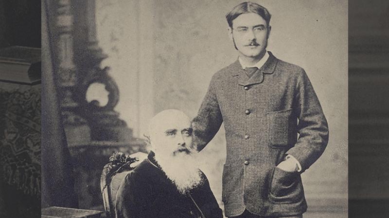 John Lockwood Kipling and Rudyard Kipling