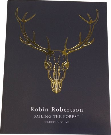 Robin Robertson Sailing the Forest gold foil cover finish